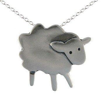 Handmade Gifts | Independent Design | Vintage Goods Fluffy The Sheep Necklace - Jewelry - Girls