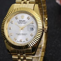 Rolex Men Fashion Quartz Watches Wrist Watch-1