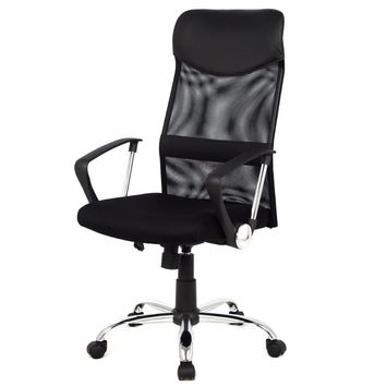Modern Ergonomic Mesh High Back Executive Chair - Computer Desk Task Office Chair Black CB10051