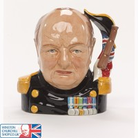 Winston Churchill 60th Anniversary of D-Day Toby Jug , Toby Jugs , China