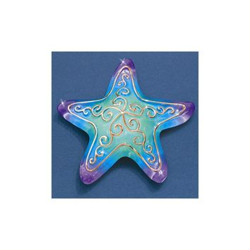 Starfish Glass Figurine