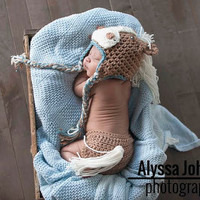 Newborn Baby Girls Boys Crochet Knit Costume Photo Photography Prop = 4457581892