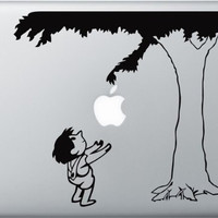 "The Giving Tree Vinyl Decal Sticker Graphic for Mac book Macbook Pro  13"" 15"" 17"" Macbook Air"