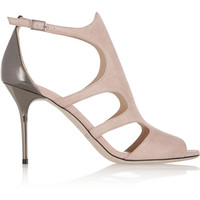 Jimmy Choo - Tendor cutout suede sandals