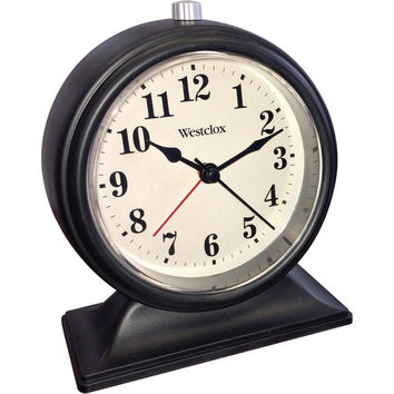 Westclox Analog Tabletop Alarm Clock
