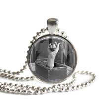 The Addams Family Thing Necklace