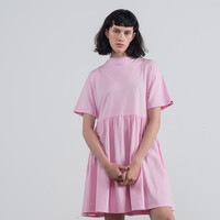 LO Basics Pink Oversized T-shirt Dress - Everything - Categories - Womens