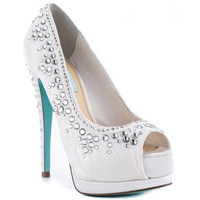 Something Blue By Betsey Johnson - Vow - Ivory Fabric