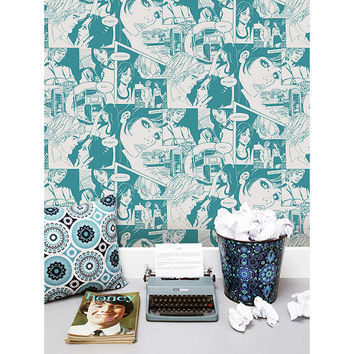 Mini Moderns True Romance Wallpaper at John Lewis