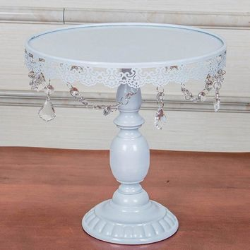 White Wedding Cake Fruits Stand Decorating Tools