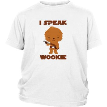 I Speak Wookie - Funny Chewbacca Star Wars Youth Shirt