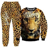 Leopard Express Tracksuit