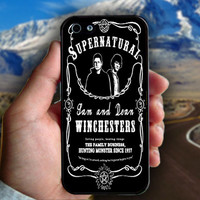 Supernatural The Winchester - Print on hard plastic case for iPhone case. Select an option