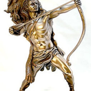 Hercules Shooting Arrow with Nemean Lion Headdress - 6269B