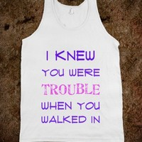 i knew you were trouble - Art design