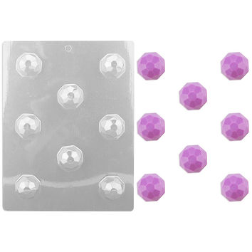 Faceted Gem Chocolate Mold