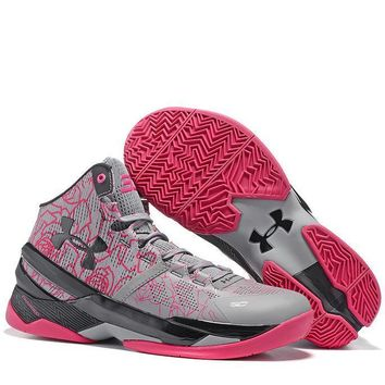 Under Armour Curry2 Women Men Fashion Casual Sneakers Sport Shoes
