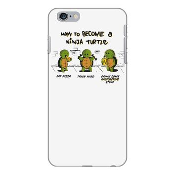 become a ninja turtle iPhone 6 Plus/6s Plus Case