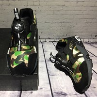 Best Online Sale Bape x Puma Disc Blaze 3M Green Camo Sport Shoes Running Shoes