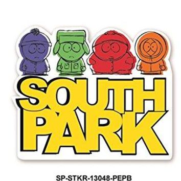 OFFICIAL South park Auto Decal/Wall Decal/Locker Decal and Refrigerator Decal