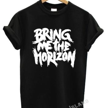 BRING ME THE HORIZON T SHIRT BAND MUSIC ROCK OLIVER SYKES TATTOOS TOUR UNISEX
