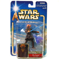 Plo Koon Star Wars Attack of the Clones #12 Action Figure