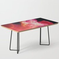 Baby, Hold on to me Coffee Table by duckyb