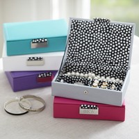 Classic Leather Small Jewelry Box