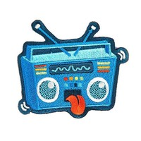 Rock Out Boombox Patch