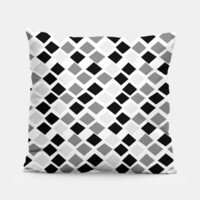 black and white diamond pillow 3, Live Heroes