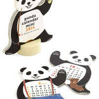 Year of the Critter 2014 Mini Calendar in Panda