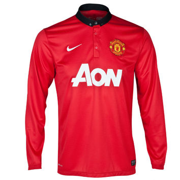 Manchester United Jersey Long Sleeve 2013-2014