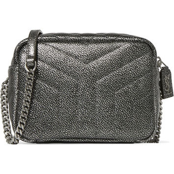 Saint Laurent - Loulou metallic quilted leather shoulder bag