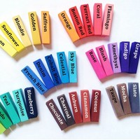Any Choice of Hair Chalk Rainbow - Set of 4 or 8 - Urban Paradise