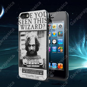 Sirius Black Wanted Poster For iPhone 4 / 4S / 5/ 5S/ 5C, Samsung Galaxy S2 / S3/ S4 case