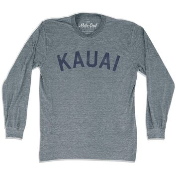Kauai City Vintage Long-Sleeve T-shirt