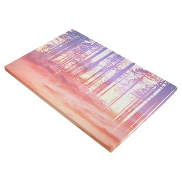 Artistic CVI - Dreamy Clouds Forest Gallery Wrap