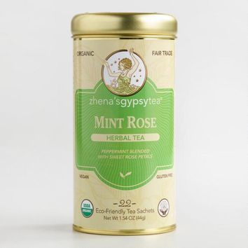 Zhenafts Gypsy Tea Mint Rose Tea