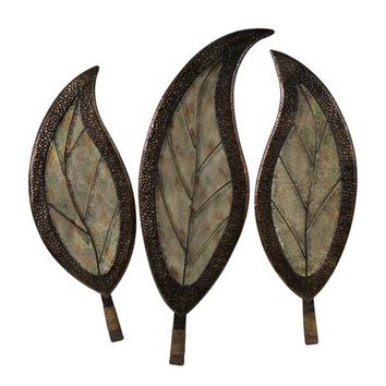 IMAX 1155-3 Botanical Wall Decor - Set of Three