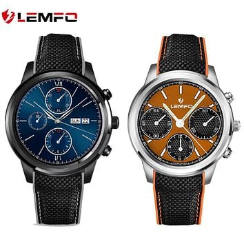 "Top 1 Lemfo LEM5 Smart Watch Android 5.1 OS 1.39"" IPS OLED screen 1GB+8GB Support SIM card GPS WiFi Smartwatch For Android IOS"