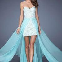 Two Piece Elegant Party Dress