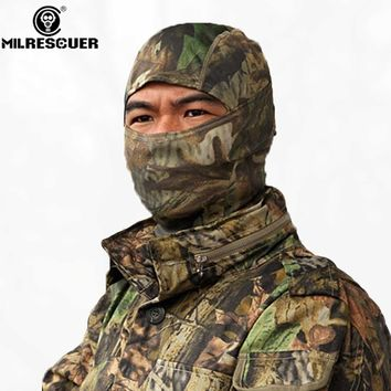 MILRESCUER Rattlesnake Tactical helmet Airsoft Hunting Wargame Breathing Dustproof Face Balaclava Mask Ski Cycling Full Hood
