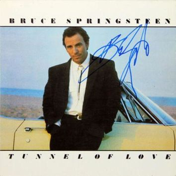 DCCKJNG Bruce Springsteen Signed Autographed 'Tunnel of Love' Record Album (Beckett COA)
