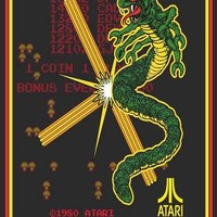 Centipede Classic Atari Video Game Poster 11x17