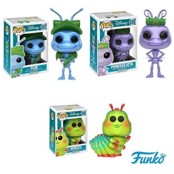 Funko Pop Disney Heimlich.Flik.Princess Atta Set 11735.36.37