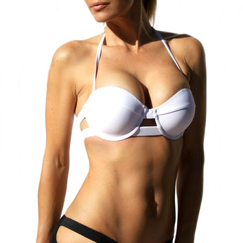 Anguilla Underwire Push-Up Bikini Top