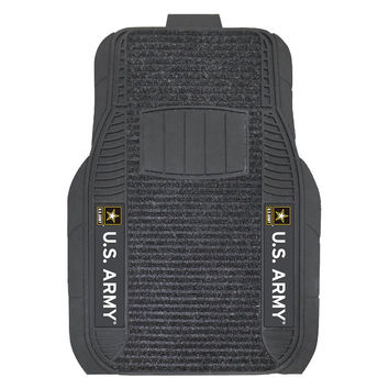 Army Black Knights NCAA Deluxe 2-Piece Vinyl Car Mats