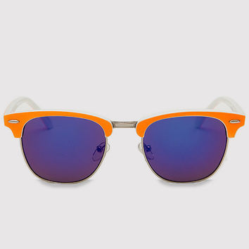 Dina Girl Sunglasses - Neon Orange