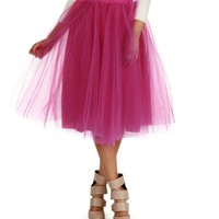 Promo-magenta Tulle Darling Party Skirt