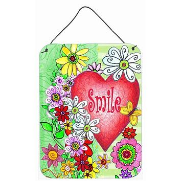 Smile Valentine's Day Wall or Door Hanging Prints PJC1041DS1216